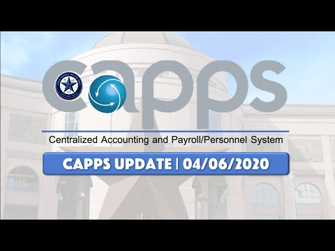 capps login for texas state employees