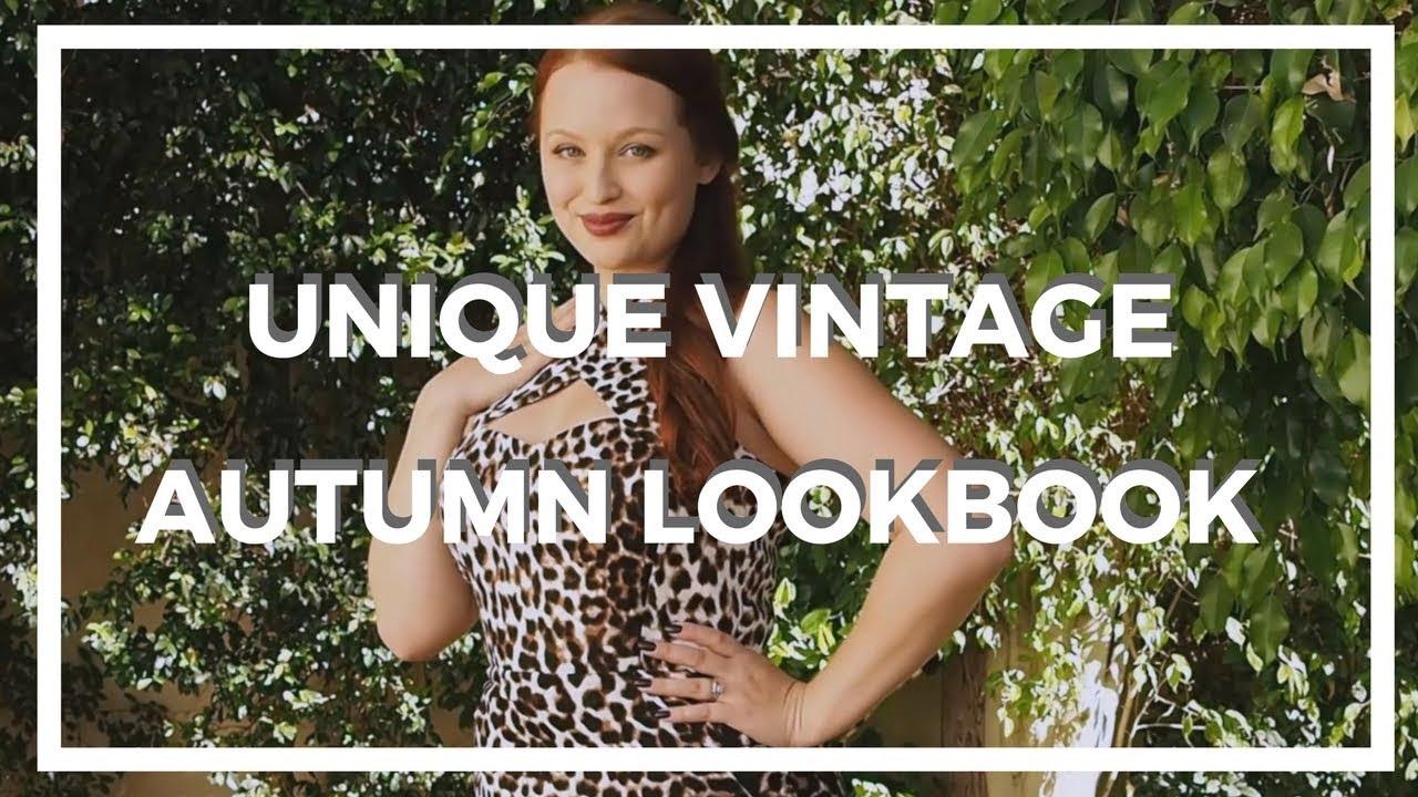 [VIDEO] - Unique Vintage ♥ Autumn Lookbook! 2