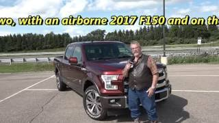 Ford 2017 F150 10-speed first drive on the track and with trailer