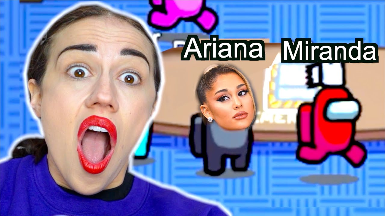 Download PLAYING AMONG US WITH ARIANA GRANDE!
