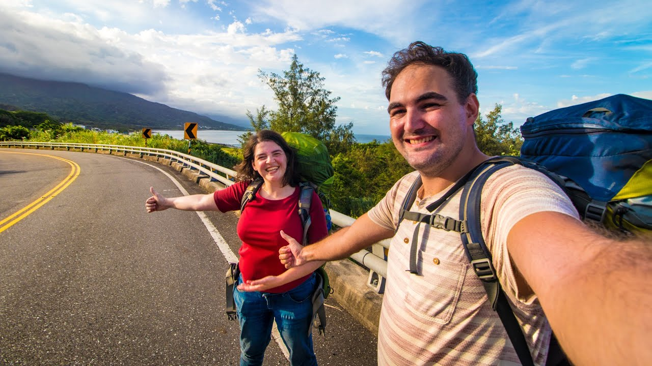HITCHHIKING To Hualien: The Kindness Of The Taiwanese People!