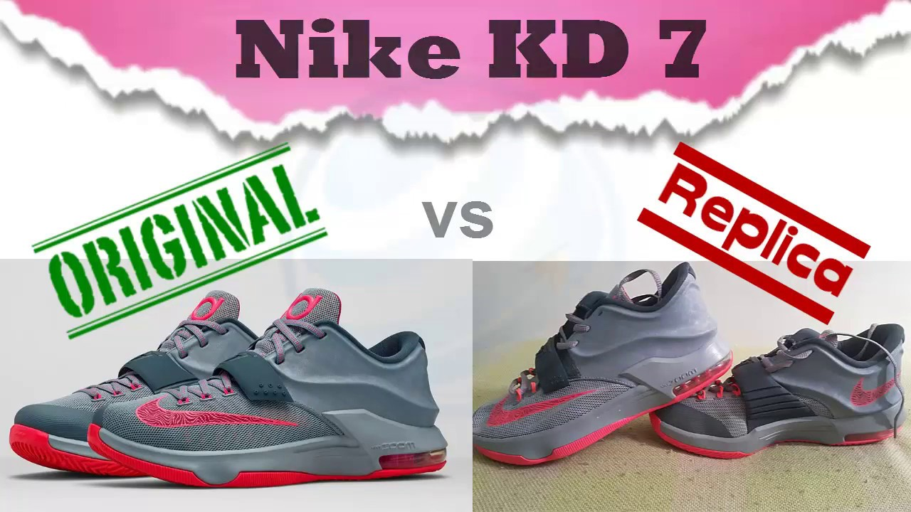 ... Shoes Independence Day Original vs Replica Nike KD 7 Spanish fake still  Raising your level!