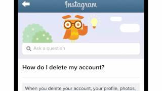 How to Deactivate and Delete an Instagram Account