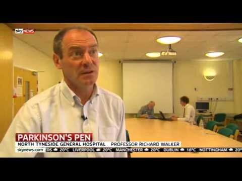 Sensory pen developed in North Tyneside could bring new Parkinson's hope...