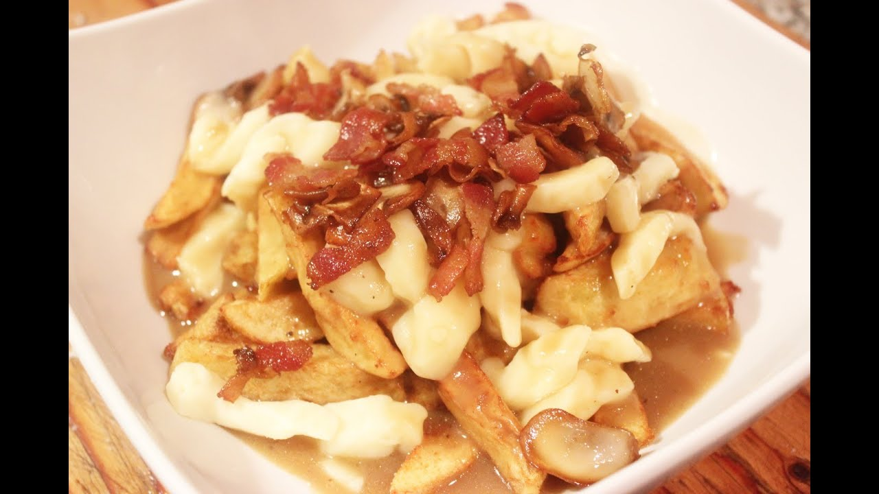 How To Make A Homemade Bacon Mushroom Poutine ~ Recipe #2 ~ Cooking With  Mira
