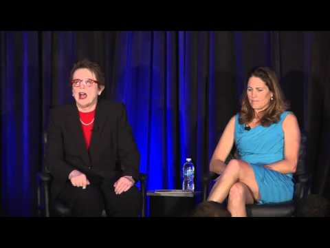 2016 National Youth Sports Awards Billie Jean King Interview