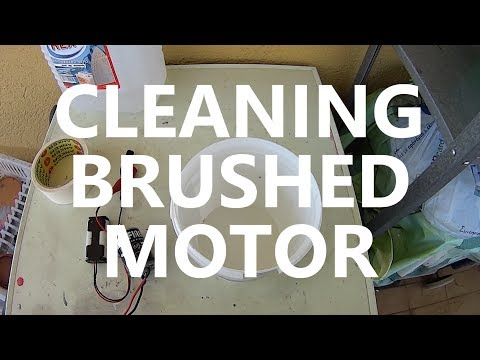 Cleaning Brushed Motor : The Easy Way