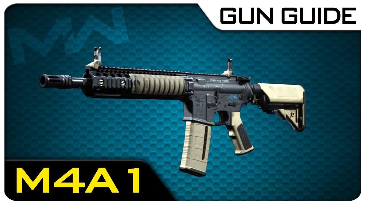 M4A1 Stats & Best Class Setups!   Modern Warfare Gun Guide #1