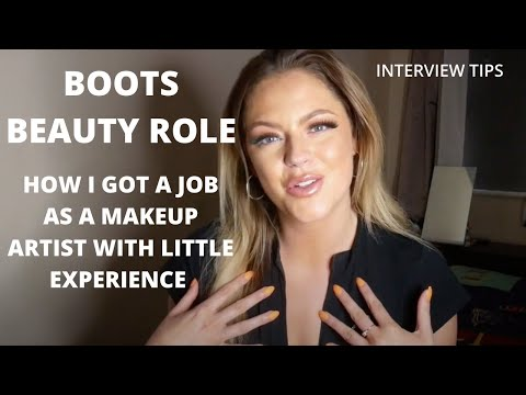 BOOTS BEAUTY SPECIALIST - HOW I GOT THE JOB