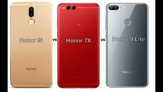 Honor 9i vs Honor 7X vs Honor 9 Lite comparison