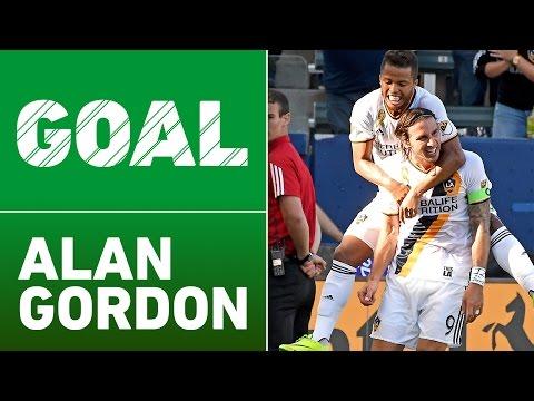 GOAL: Alan Gordon finishes off Giovani dos Santos and Landon Donovan's set up