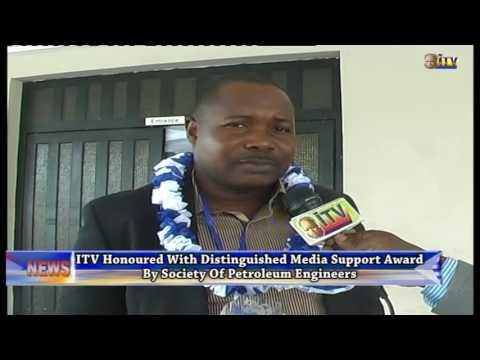 ITV honoured by Society of Petroleum Engineers