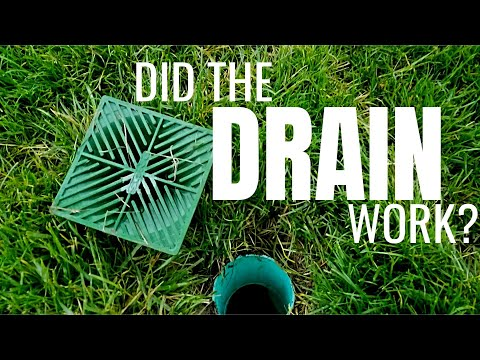 diy-french-drain-test-|-yard-drainage-solution-|-pt.-2