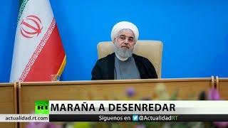 """El presidente de Irán califica de """"indignantes e idiotas"""" las nuevas sanciones de EE.UU."""