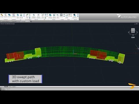 AutoTURN 10 1 - Swept path analysis and turning simulation