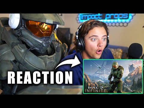 Chief REACTS to the Halo Infinite Trailer & Campaign Gameplay