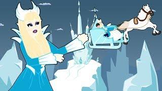 Снежная королева сказка для детей, анимация и мультик