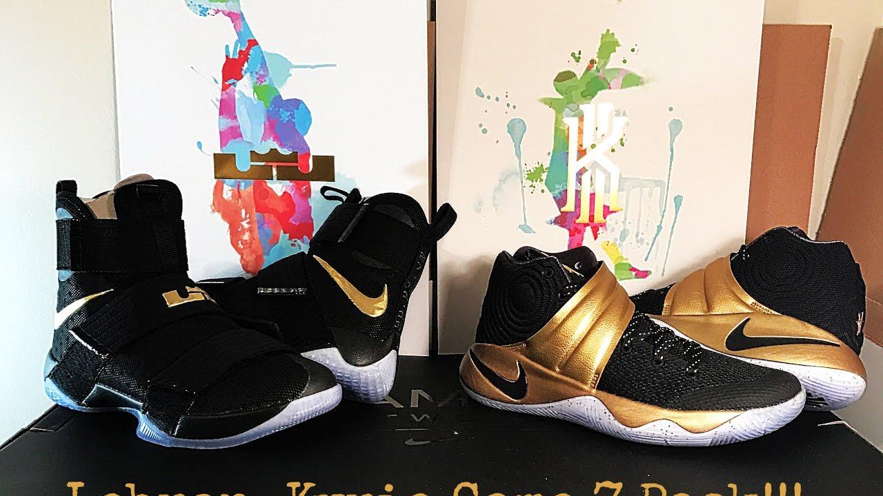 Nike lebron Kyrie Game 7 Champ Pack