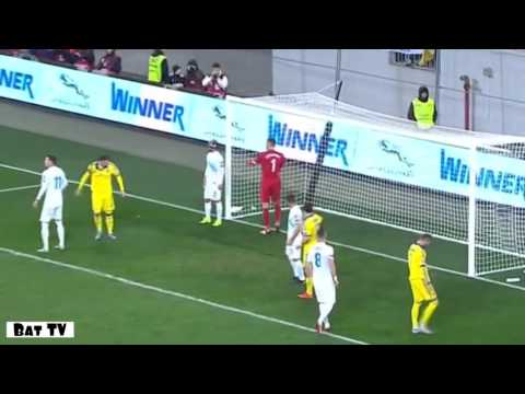 Slovenia 1-1 Ukraine (Euro Qualifying 2016) from YouTube · Duration:  6 minutes 3 seconds