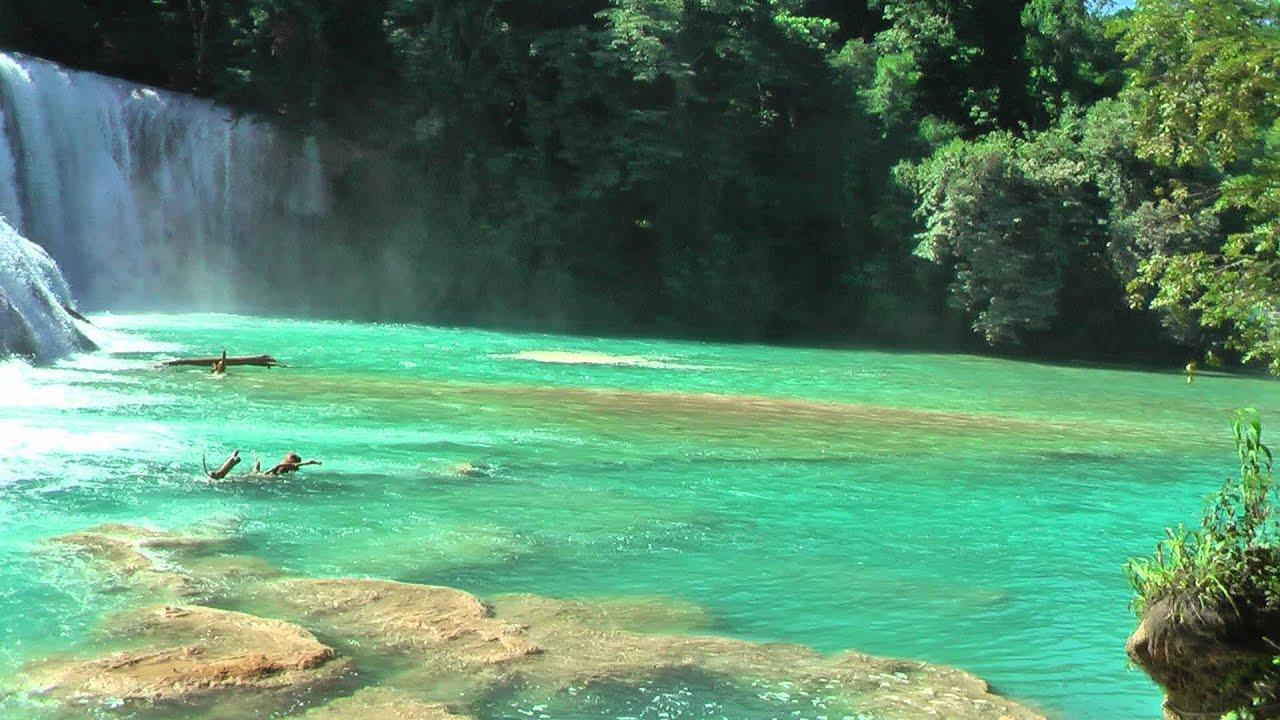 Cascadas de agua azul youtube for Motor para cascada de agua