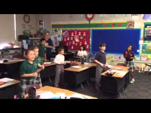 Ss Simon Jude Cathedral School 2nd Grade Spanish Class
