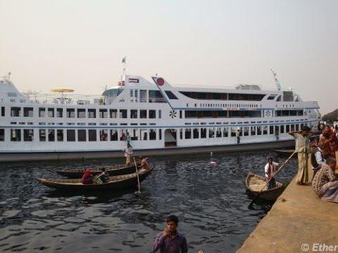 Shodor Ghatt Boat Terminal, Old Dhaka, Bangladesh.