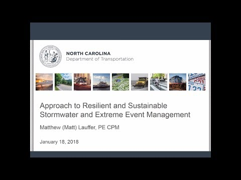 Approach to resilient and sustainable stormwater and extreme event management