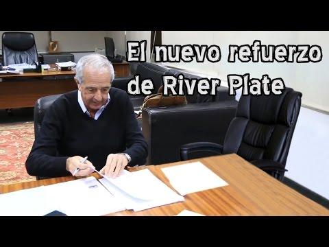 Humor: el nuevo refuerzo de River firmó su contrato
