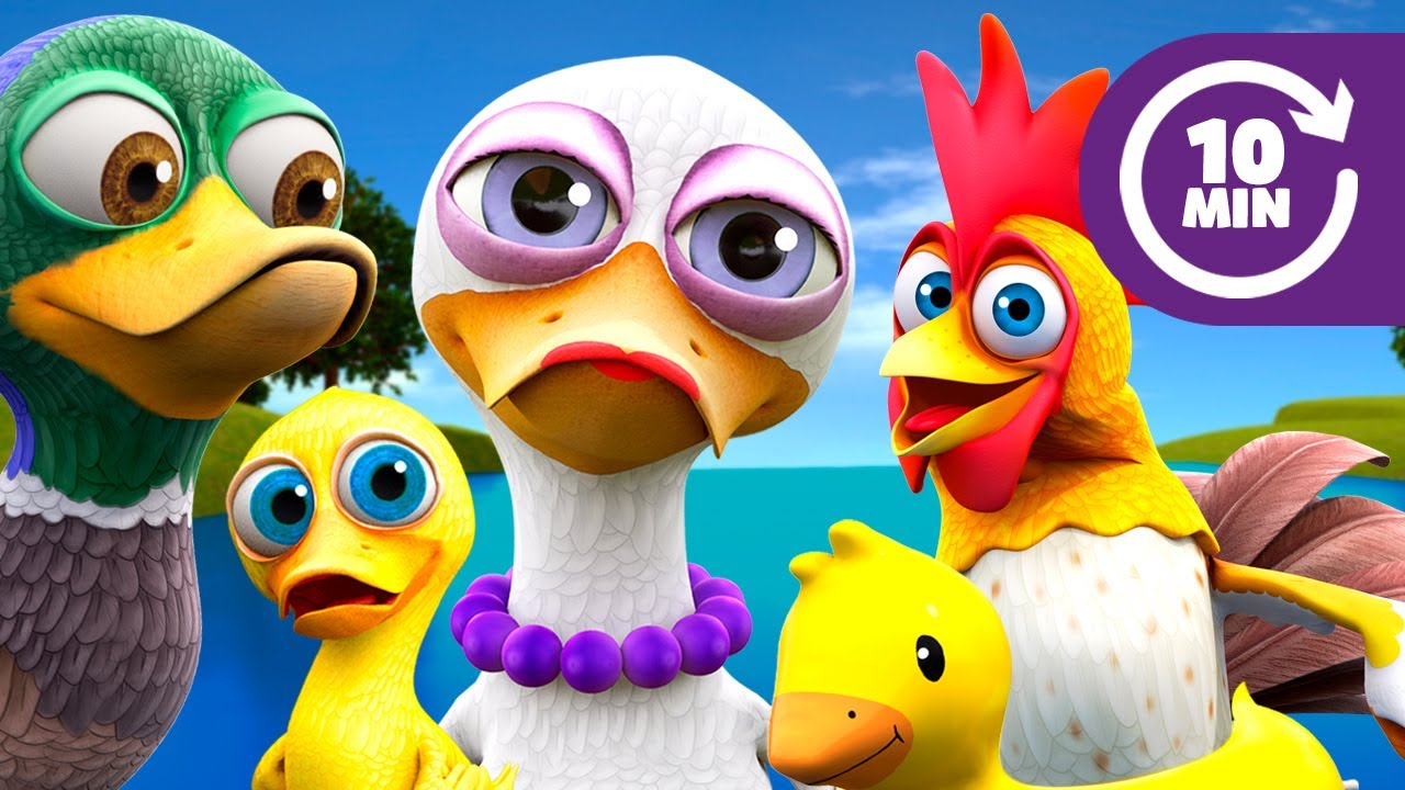 Here Comes Mommy Duck and More Kids Songs & Nursery Rhymes