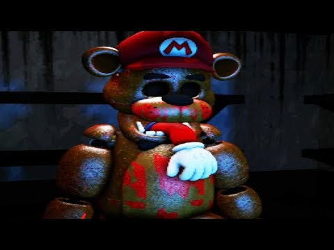MARIO GETS STUFFED INTO AN ANIMATRONIC SUIT! | Mario in Animatronic Horror (Five Nights at Freddys)