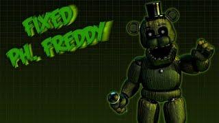 (FNAF3 Speededit) Fixed Phantom Freddy.