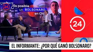 Debate en El Informante: ¿Por qué ganó Bolsonaro?