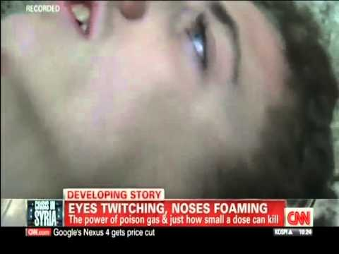Syria Gas Attack - 'Eyes Twitching, Noses Foaming' (CNN, 30Aug13)