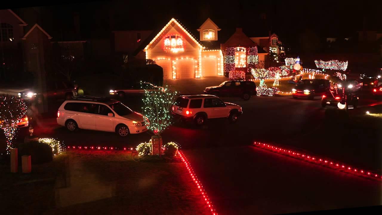christmas lights redondo beach wa neighborhood