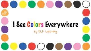 colors song for kindergarten
