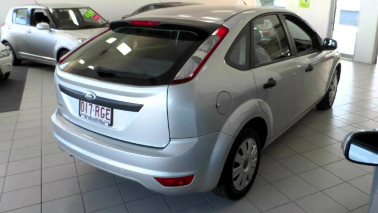 2010 Ford Focus Cl Lv Silver 4 Speed Automatic Hatchback