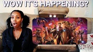 Marvel Studios' Avenger - Official Trailer Reaction