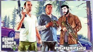 Grand Theft Auto V GTA ГТА Обзор Прохождение! Сюжет века! № 6 Тревор Решает