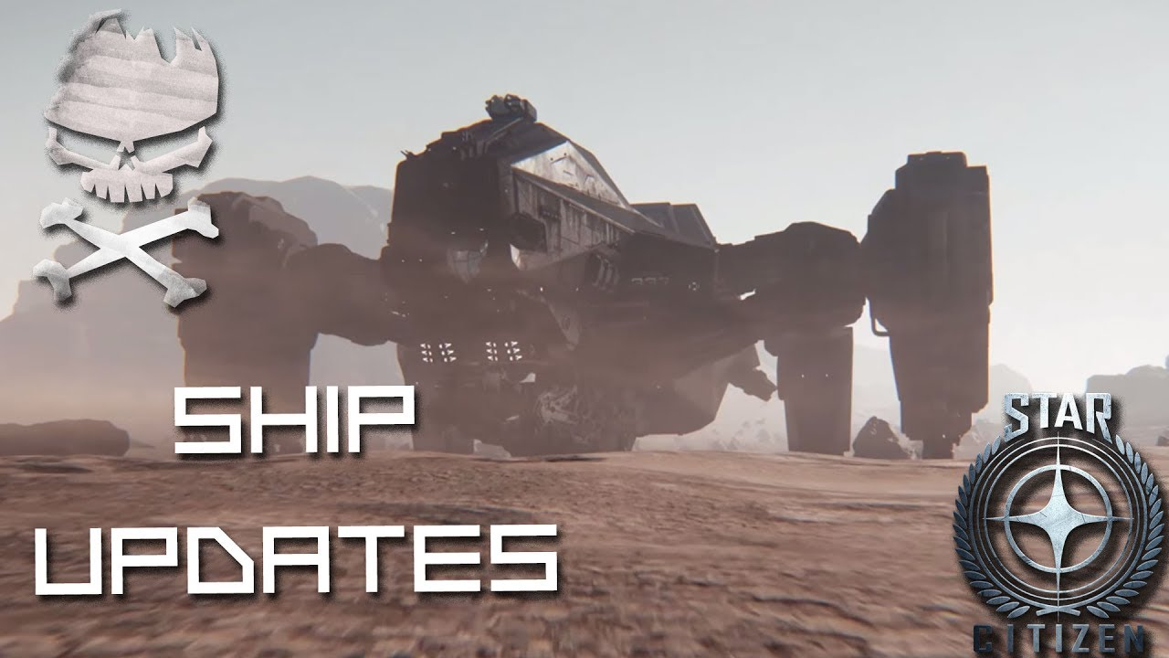 Download Star Citizen : Ship Updates Reclaimer and Hull C moving forward 07-08-2017