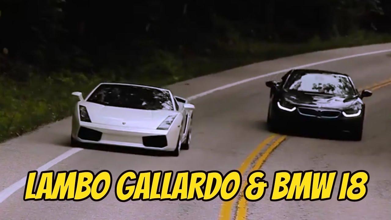 Lamborghini Gallardo Bmw I8 Cruising Youtube