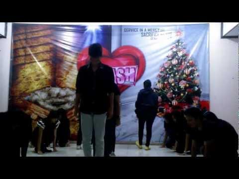 Justin Bieber ft. Drummer Boy Hip-Hop Dance by PAM POUK HK