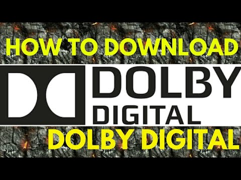 HOW TO DOWNLOAD DOLBY DIGITAL APP ON ANY ANDROID DEVICE