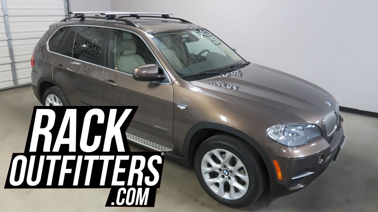 2014 2017 bmw x5 with thule rapid crossroad aeroblade roof rack