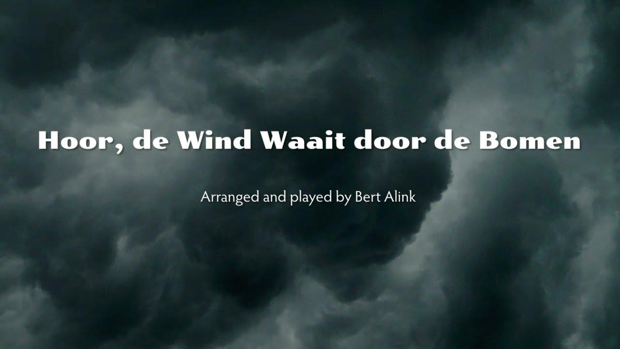 Hoor De Wind Waait Door De Bomen Classical Guitar Youtube