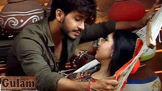 Rangeela falls in LOVE with Shivani in Gulam 29th March 2017 EPISODE