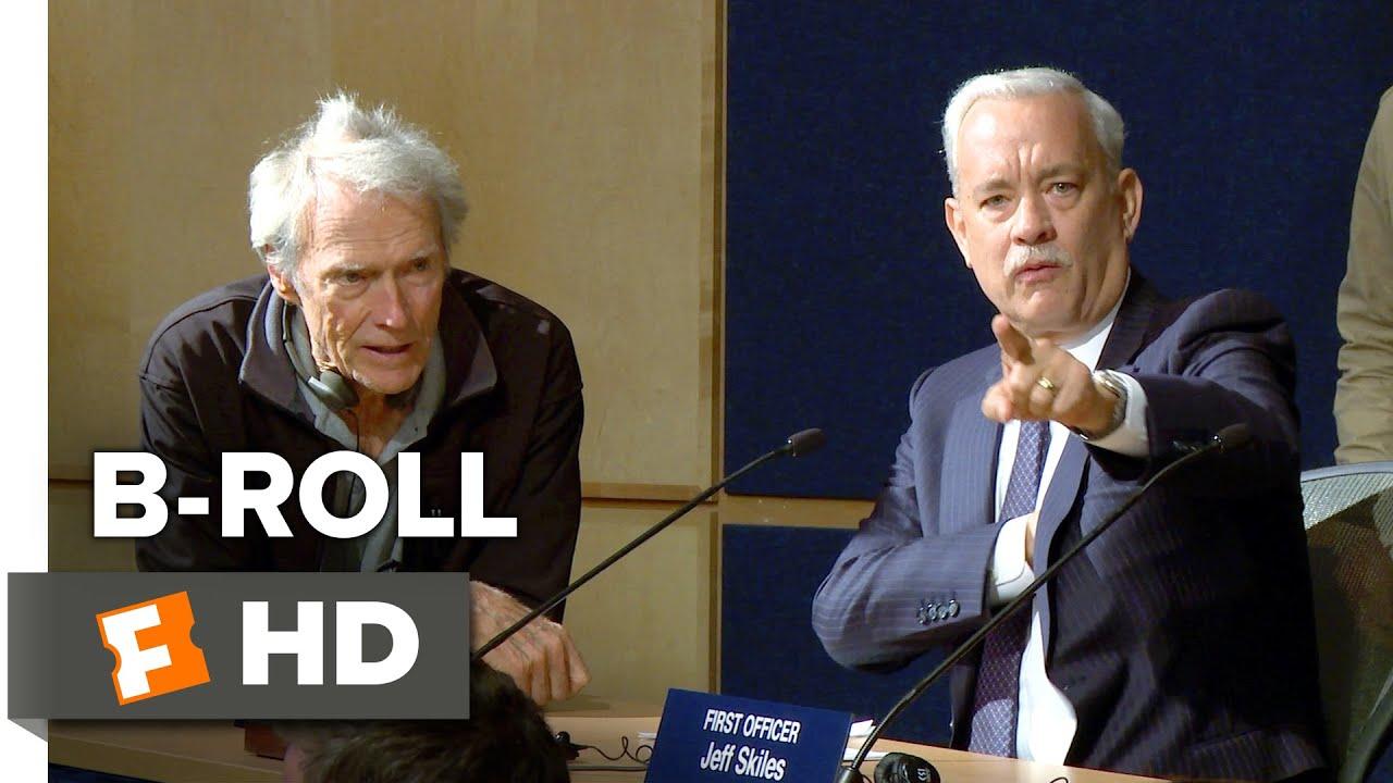 Sully B-ROLL 1 (2016) - Tom Hanks Movie