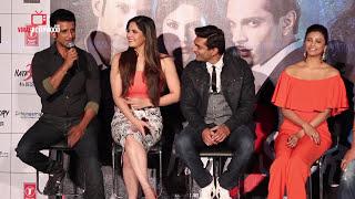 uncut hate story 3 zarine khan daisy shah karan singh grover sharman joshi trailer launch