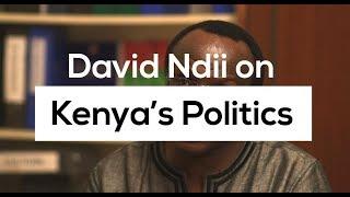 David Ndii on Kenya's Politics