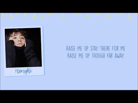 HongKiRaise Me Up [Han/Rom/Eng] Lyrics