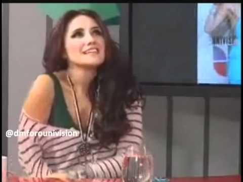 Dulce Maria En Chat Terra Colombia Parte 3 (02 09 2010)